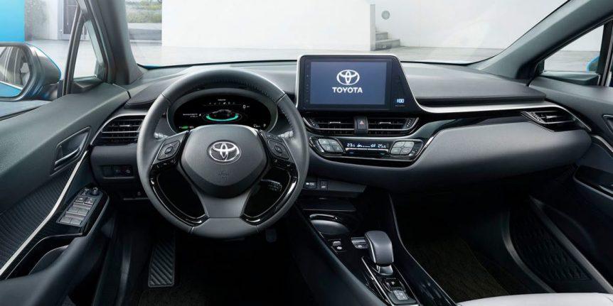 Toyota está trabajando en una actualización de su asistente de conducción que llegará el año que viene Toyota C HR 4 1200x600 1 862x431