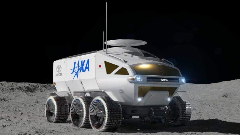 EL ROVER DE TOYOTA QUE EXPLORARÁ LA LUNA 1847a084 toyota fuel cell electric lunar rover project 1 768x432 1