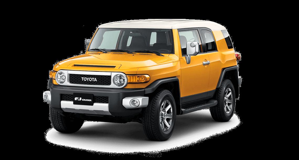 toyota fj cruiser Toyota FJ CRUISER 2color fj amarillo y blanco