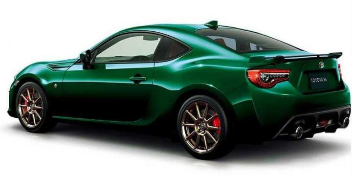 TOYOTA GT 86 BRITISH GREEN LIMITED, PARA JAPÓN 5c6486c6f0d1d