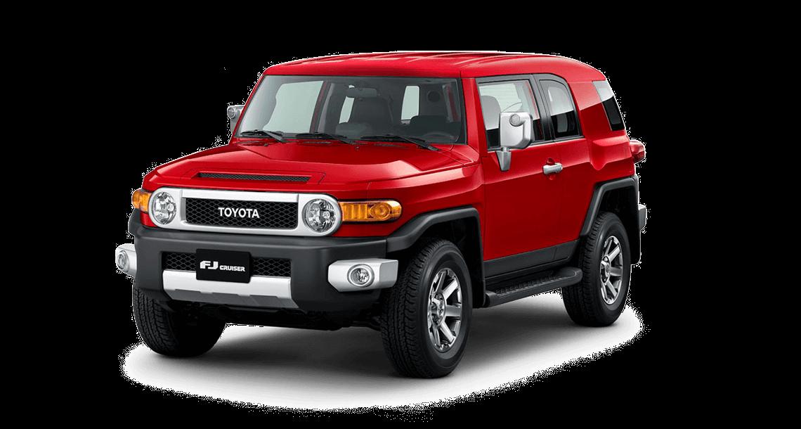 toyota fj cruiser Toyota FJ CRUISER 7color fj rojo