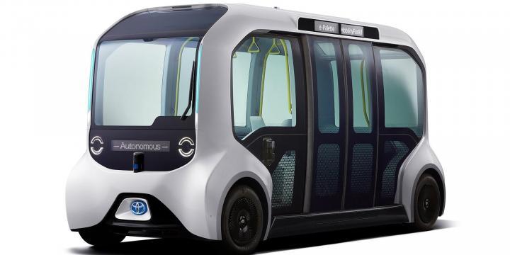 Toyota e-palette, un autónomo para los olímpicos Toyota e palette un auto  nomo para los oli  mpicos