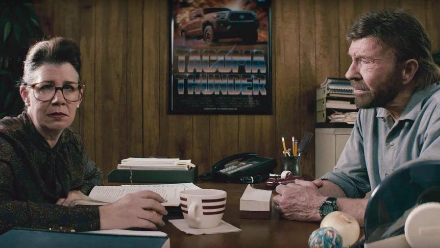 Vídeo: así es el tronchante anuncio de Toyota con Chuck Norris anuncio toyota chuck norris 862x486
