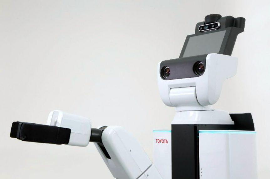 Toyota y PFN trabajarán juntos en el desarrollo de robots de asistencia robot toyota 862x573