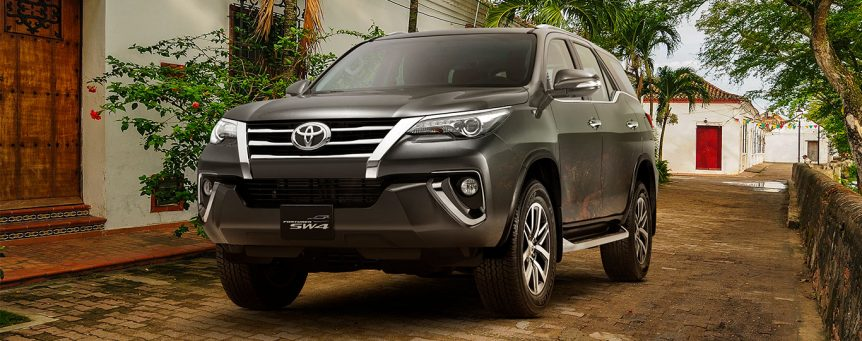 Toyota es la marca con mayor crecimiento en Colombia durante 2018 sw4 srv diesel banner2 862x341