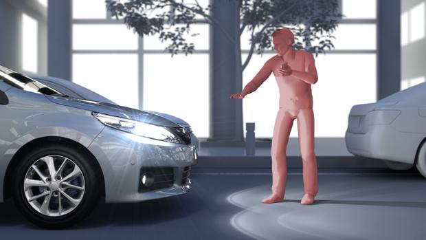 Los coches de Toyota sabrán cuándo dejar de acelerar antes incluso de detectar un obstáculo toyotasafetysense 2ordfgen3 ksCH 620x349 abc