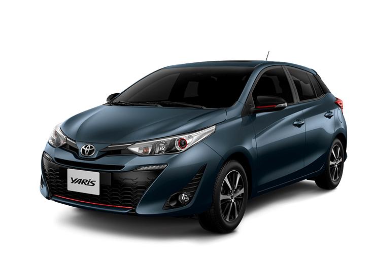 toyota Toyota YARIS yaris color azul gris