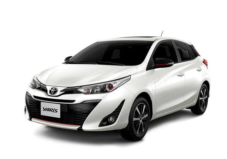 toyota Toyota YARIS yaris color blanco perlado