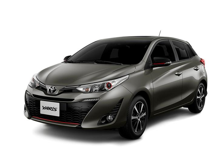 toyota Toyota YARIS yaris color gris arena