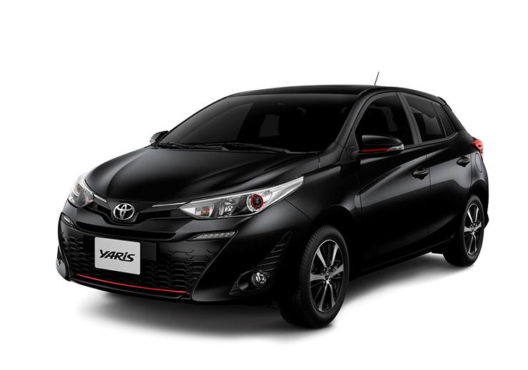 toyota Toyota YARIS yaris color negro mica