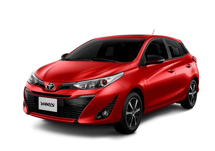 toyota Toyota YARIS yaris color super rojo