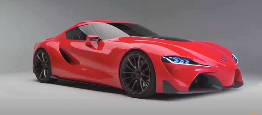 borrador automático El concepto Toyota FT-1 define el diseño futuro F1TOYOTA 862x380
