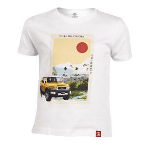 Camiseta  para Niño Blanca FJ Cruiser Fotos Tienda 0016 CAMISETA NILO BLANCA 300x300