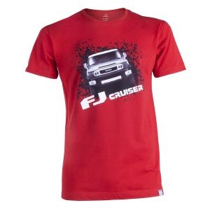Camiseta para Hombre Roja FJ Cruiser Fotos Tienda 0018 camiseta FJ roja 300x300