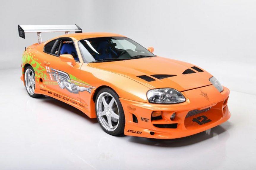 toyota A subasta el Toyota Supra de Fast and Furious toyota supra 1994 fastfurious frontal 2347257 862x573