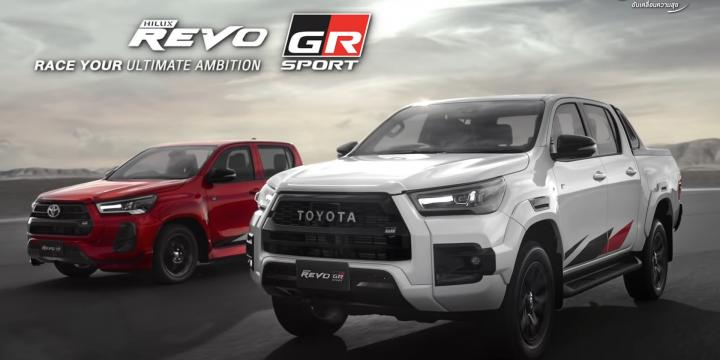 ReboGR toyota Toyota Hilux pasa al mundo deportivo con la edición Revo GR toyota1